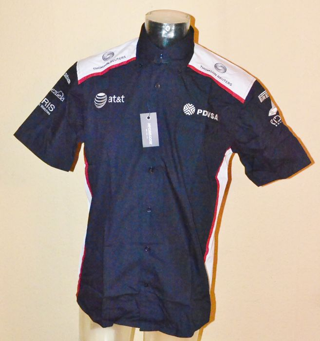 AT & T Williams - team shirt - Teamwear Raceday shirt by McGregor