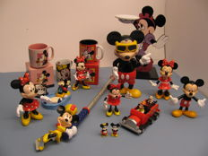 Disney, Walt - 16 items - Mickey and Minnie Mouse (1980s/90s)