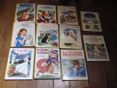 Collection l'Age d'Or; Lot of 11 books illustrated in edition of Casterman - 1945/1975