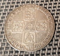 United Kingdom - Shilling 1758 George II - silver