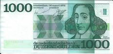 The Netherlands - 1,000 guilders 1972 - PL128.c