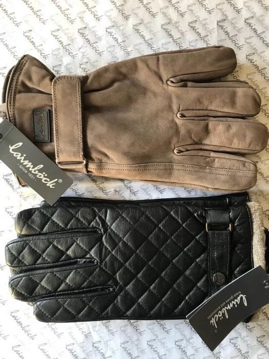 Laimböck - 2 pairs of men's gloves - Size 10 (NL/DE)