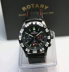Rotary Chronograph - men's wristwatch, unworn
