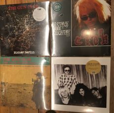 Four LP's of The Gun Club || Coloured vinyl || Limited edition ||