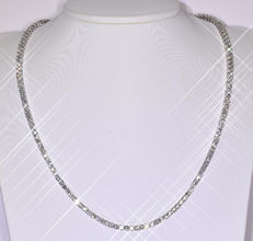 15.86 Ct tennis Diamond necklace