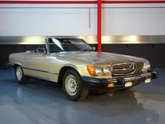 Mercedes-Benz - 380SL Roadster (Convertible) - 1983