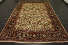 Unique Persian carpet, Sarough, Louvre pattern, top wool, made in Iran, 220 x 305 cm, top condition