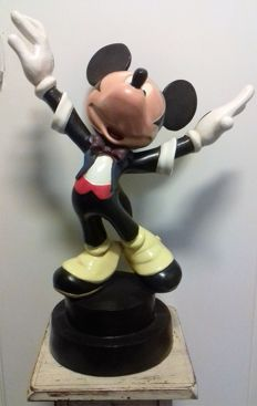 Disney, Walt - Figure - Mickey Mouse conductor (c. 1980)