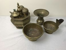 Sirih Indian antique copper-ware - Java - early 20th century