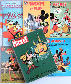 Le Journal de Mickey - Album n°14 + 5 Votre serie Mickey - C/B - Reissue / Original Edition (1958/1963)