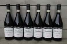 Sangrato Barbaresco Riserva: 2x 2004 & 2x 2005 & 2x 2007 - 6 bottles (in original wooden case)