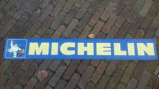 Metal Michelin Sign 1973  125cm x 18cm