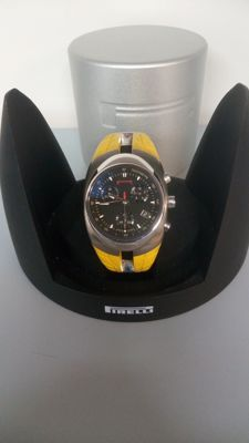 Pirelli Pzero Tempo, men's chronograph, quartz, yellow 7951902165 Swiss Made – 1994
