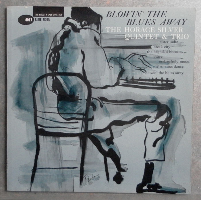 Extremely Rare Record - The Horace Silver Quintet & Trio - Blowing The Blues Away - MONO