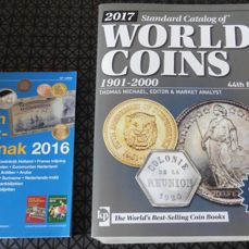 Accessories - Catalogue for World coins 1901–2000 (44th edition 2017) + Almanac for Dutch coins 2016