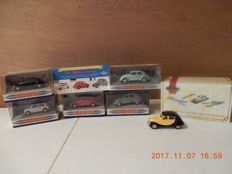 Dinky/ Matchbox 1996 - Scale 1/43 - Lot with 6 models - DY06C - DY21 - DY 32  - Dinky The Million Sellers (Collectors special) - DY6 - DY6B -  DYM36840