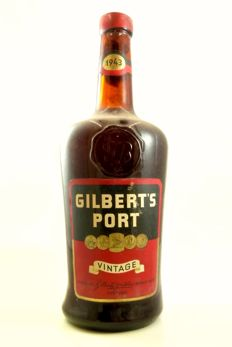 1943 Vintage Port Gilbert's - 1 bottle