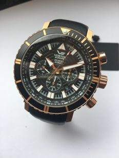 Vostok Europe Mriya, 2017, automatic chronograph, including box, booklets and two straps