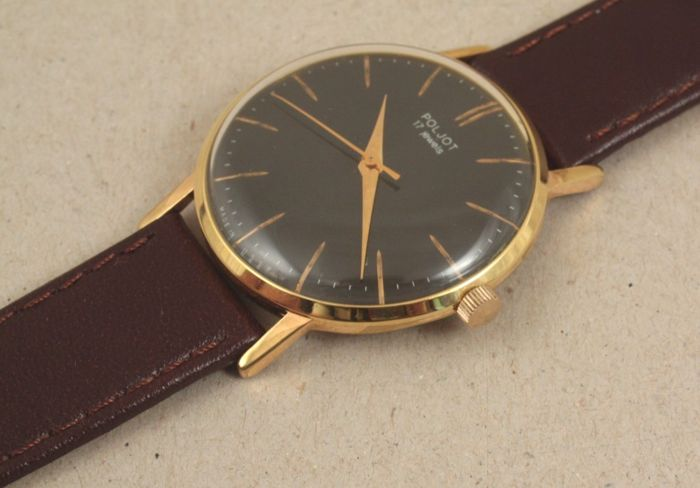 Poljot - Suit Gold-plated Watch - No Reserved Price! - Heren - 1970-1979
