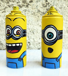 Mr Funky - I love Streetart - Minions.