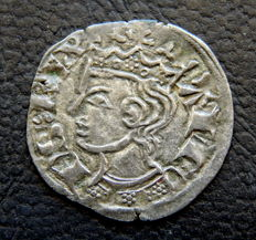 Alfonso XI 'The Noble' (1312-1350= - Cornado Noven billon mint of Burgos