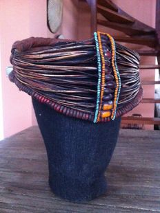 Samburu mporro engorio marriage crown/collar - Kenia