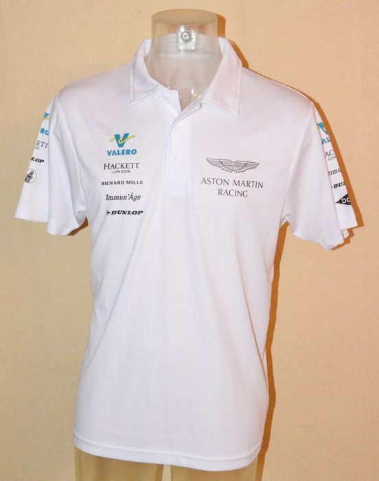 Aston Martin Valero Le Mans team apparel - team shirt (L)