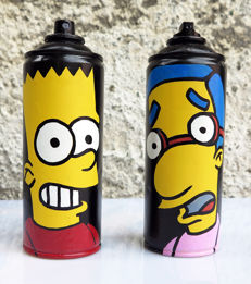 Mr Funky - Streetart will rock you ! - Bart.