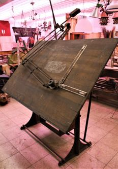 Nestler - adjustable vintage drafting table