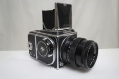 "Super rare !! ""Salute-C"". Prototype ""Hasselblad 1600F"". The USSR ""Arsenal"" 1957-1980"