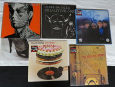 Rolling Stones and Jagger - 5 albums -Tattoo You - Primitive Cool - Between the Buttons - Let it Bleed - Beggars Banquet (1981/2013)