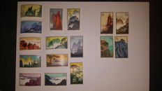 China 1963 - Collection of Chinese stamps (黄山) - 特57