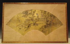 Ancient Chinese woman painting - China - 19th  century