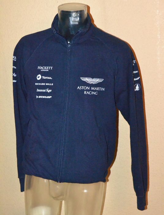 Aston Martin Racing Team And Drivers Fleece Jacket By Hackett Le