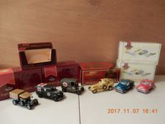 Matchbox MoY 1975 -1997/98 - Scale 1/43 - Lot with 6 models - YY12/SB-M - YY34/SC-M - YS 38-1 - YRS06/SA-M - YRS07/SA-M - Y13-3