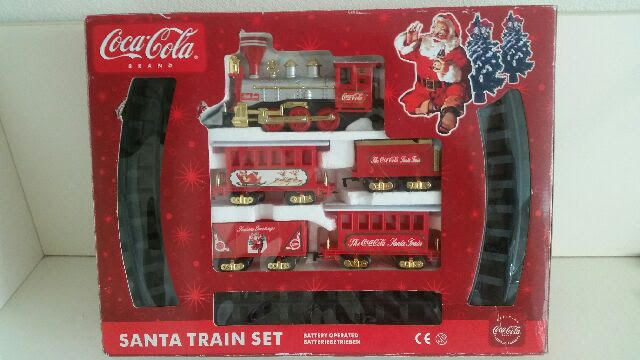 Coca Cola Santa Train set in ovp