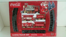Coca Cola Santa Train set in original packaging