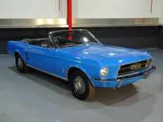 Ford - Softtop Convertible 200CI (3.3 l) I6 - 1967
