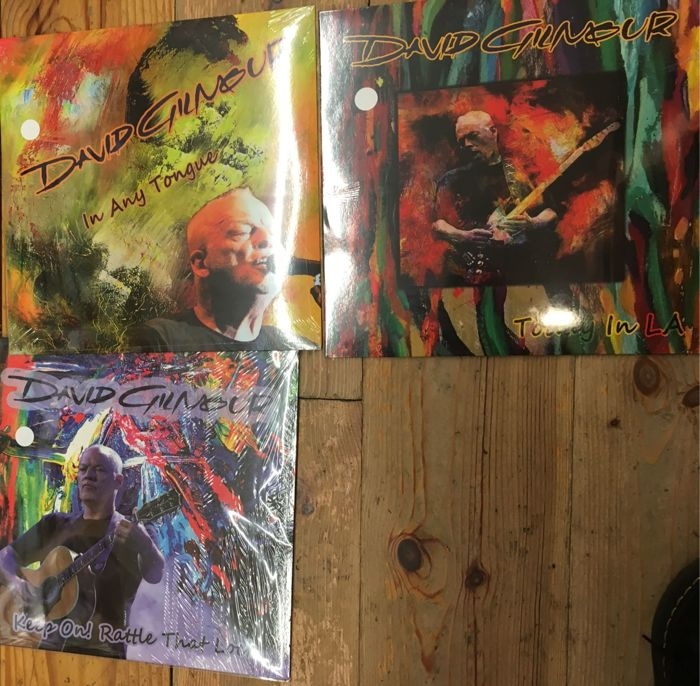 Three albums of David Gilmour || Limited edition || Coloured vinyl