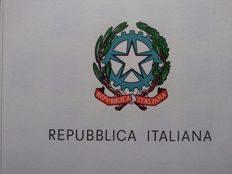 Italian Republic, 1945/1979 – Stunning collection in album and Marini Lusso sheets