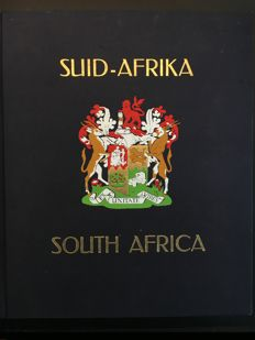 South-Africa and homelands - Collection in 1 Davo album and 1 large binder with postal history