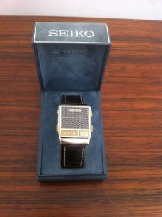 Seiko - talking  watch - Hombre - 1980 - 1989