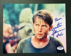 "Martin Sheen - Signed Autograph "" Apocalypse Now "" ( 20x25 cm ) Photo - With Certificate of Authenticity PSA/DNA"
