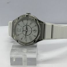 Piaget - Polo Forty Five Lady White Rubber ladies watch - GOA35014 18K white gold  - Damer - 2011-nutid