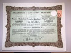 Collection of 57 Dutch, Norwegian and Danish bonds from the late 19th and early 20th centuries