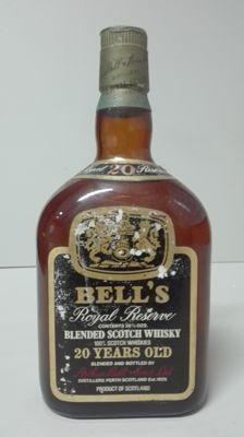 Bell's Royal Reserve 20 years old - 1970s