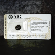 Scapolite Cats eye - 4.65 ct