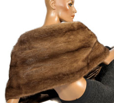 Wonderful beautiful XXL stole mink stole stole scarf demi buff fur wrap collar