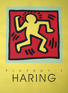 Keith Haring - Playboy - yellow edition - 1991