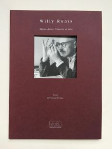 Signed; Willy Ronis - Marie-Anne, Vincent et moi - 1999
